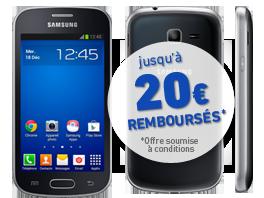 visuel du téléphone Samsung Galaxy Trend Lite Noir