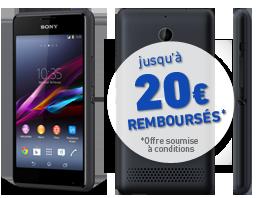visuel du téléphone Sony Xperia E1 Noir