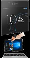 Sony Xperia L1 noir 4G et PC Hybride