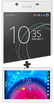 Sony Xperia L1 blanc et Tablette 10.1''