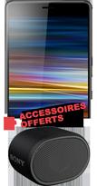 Sony L3 noir 4G+ et enceinte XB01 offerte