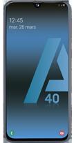 Samsung Galaxy A40 noir 4G+ double SIM