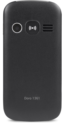 Doro 1361 Noir Double SIM