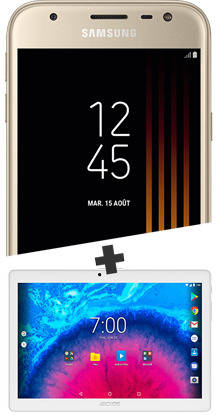Samsung J3 2017 or et Tablette 10.1''