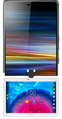 Sony Xperia L3 noir 4G+ et Tablette 10.1''