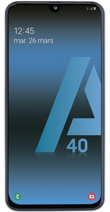 Samsung Galaxy A40 blanc 4G+ double SIM