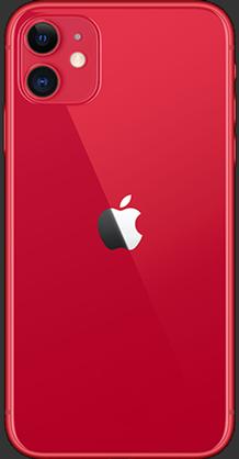 Apple iPhone 11 64Go rouge 4G+