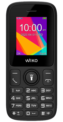 WIKO F100 noir double SIM