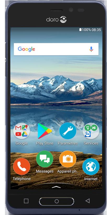DORO 8035 bleu 4G