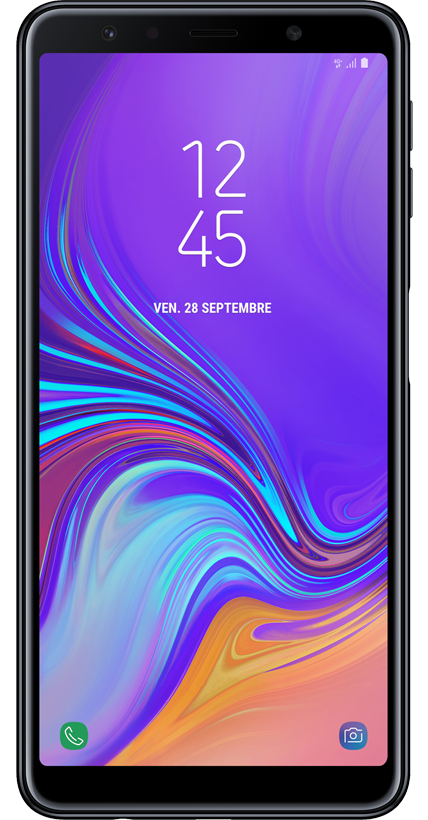 Samsung Galaxy A7 noir 4G+ double SIM