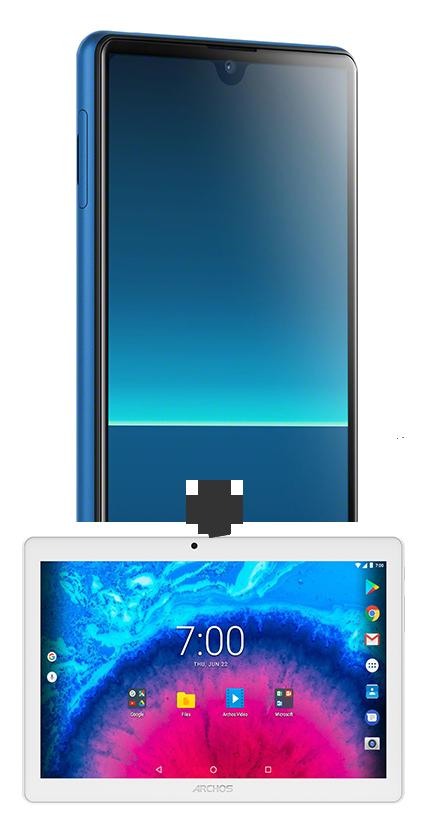 Sony Xperia L4 bleu 4G+ et Tablette 10.1