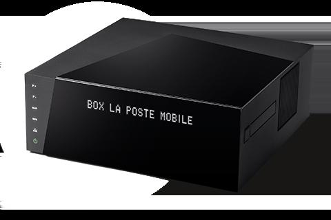 La Box Très Haut Débit de la Poste Mobile