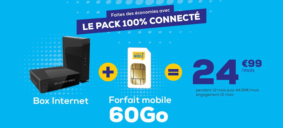 Série Limitée Box La Poste Mobile : Prolongation jusqu'au 23 juin, l'offre Box Très Haut Débit et Box ADSL est à seulement 14,99€ par mois pendant 12 mois !