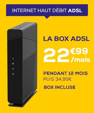 Box ADSL à 22,99€ / mois