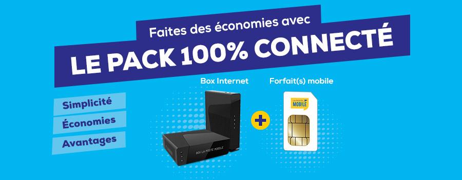 Faites des économies avec Le Pack 100% Connecté