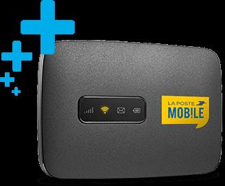Prêt d'une box 4G en cas de panne de la box internet à la maison.