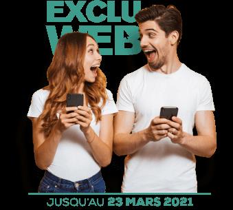Forfait mobile 20Go sans engagement exclu web jusqu'au 23 mars 2021
