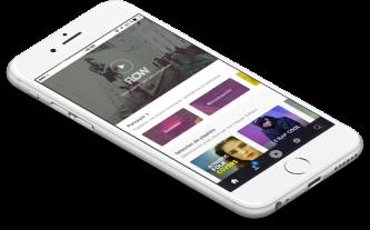 Application Deezer sur iPhone