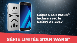 Coque Star Wars  incluse avec le Galaxy A5
