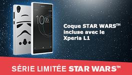 Coque Star Wars  incluse avec le Xperia L1