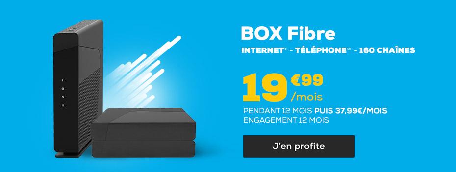 L'offre du moment - Box ADSL et THD 22,99€ / mois pendant 12 mois